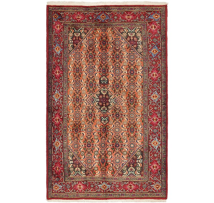 130cm x 213cm Gholtogh Persian Rug