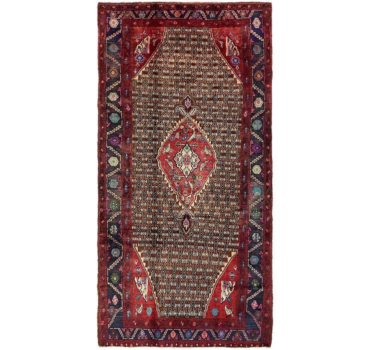 HandKnotted 5' 3 x 10' 3 Koliaei Persian Rug