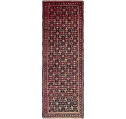 Link to 3' 10 x 11' 3 Hossainabad Persian Runner Rug