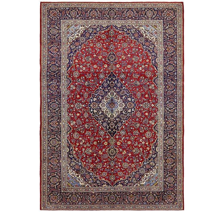 9' 10 x 14' 5 Kashan Persian Rug