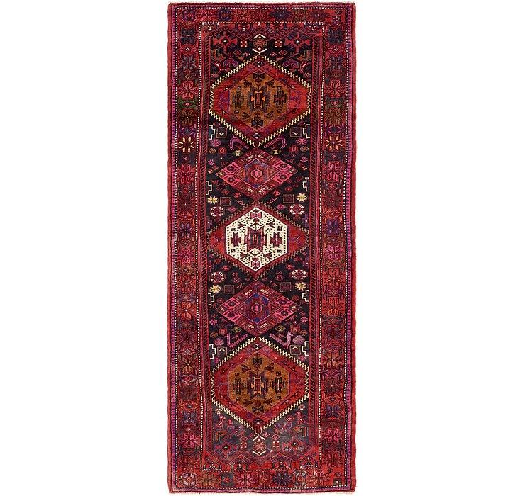 3' 7 x 9' 10 Zanjan Persian Runner Rug