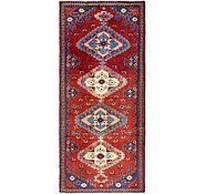 Link to 4' 4 x 10' Hamedan Persian Runner Rug
