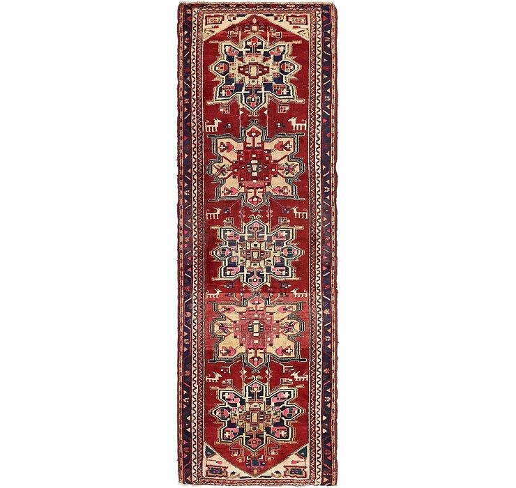 HandKnotted 3' 4 x 10' 5 Meshkin Persian Runner ...