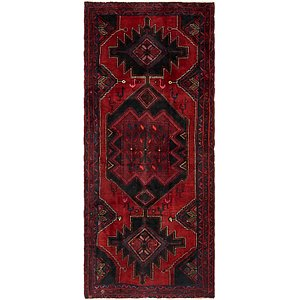 4' x 9' 3 Sirjan Persian Runner Rug