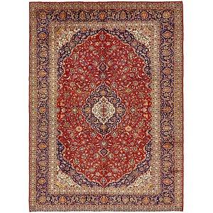 9' 10 x 13' 6 Kashan Persian Rug