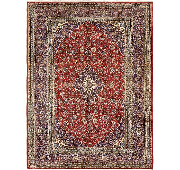 9' 4 x 12' 9 Kashan Persian Rug