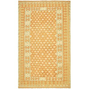Unique Loom 3' 5 x 5' 7 Kilim Waziri Rug