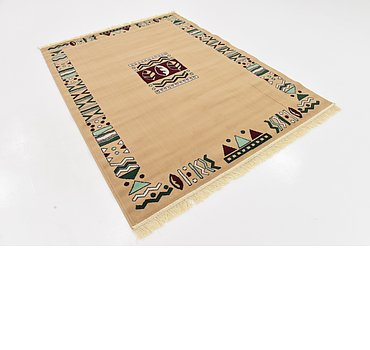 163x224 Reproduction Gabbeh Rug