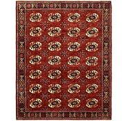 Link to 8' x 10' Afghan Ersari Oriental Rug