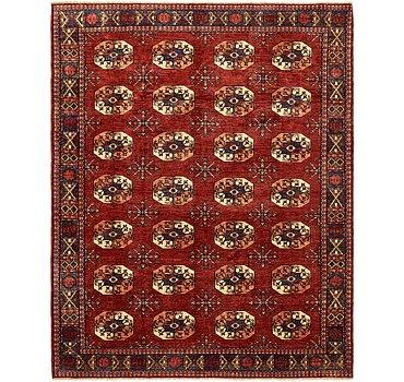 244x305 Afghan Ersari Rug