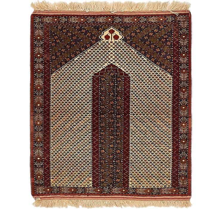 122cm x 145cm Lahour Oriental Rug