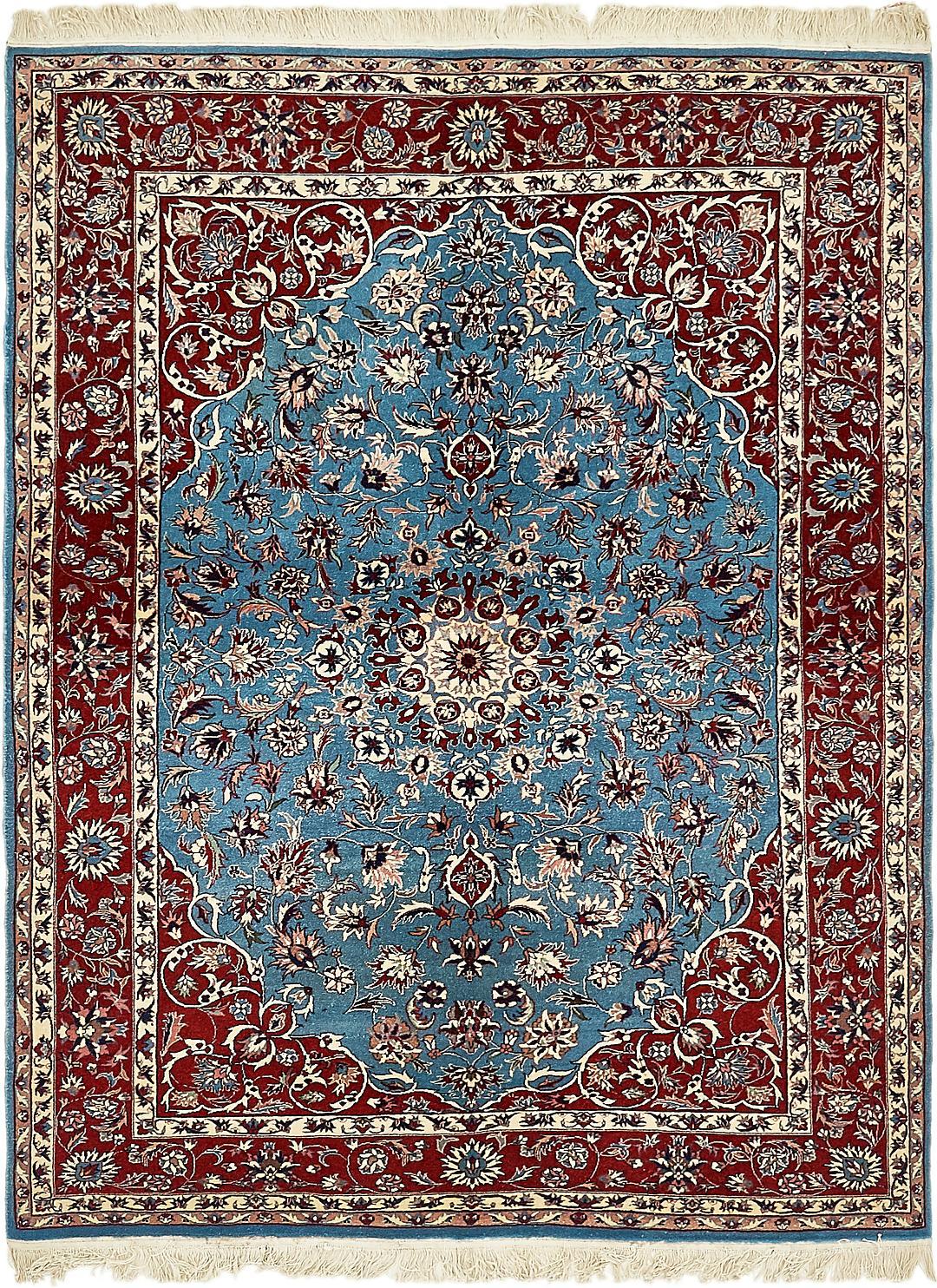Main 5 2 x 7 2 isfahan oriental rug photo