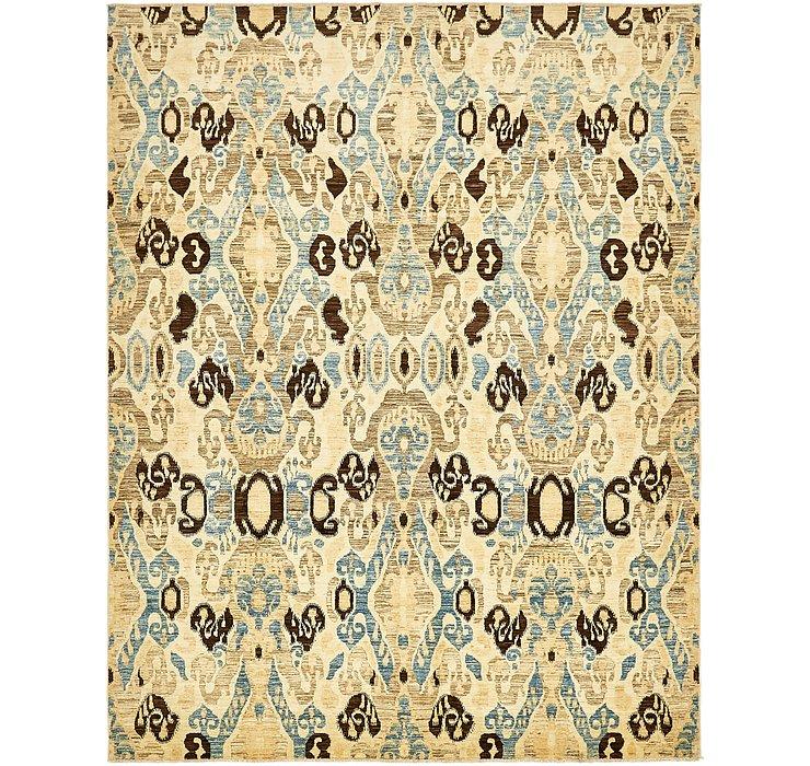 7' 10 x 10' Ikat Oriental Rug