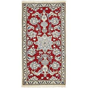 2' 4 x 4' 6 Nain Persian Rug