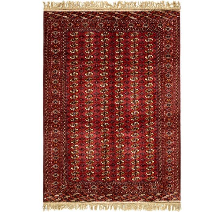 9' 10 x 14' Torkaman Oriental Rug