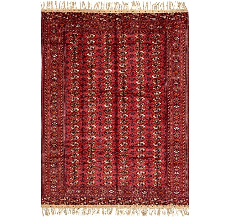 10' x 13' 10 Torkaman Oriental Rug