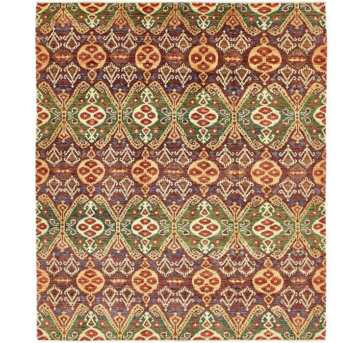 8' 3 x 9' 8 Ikat Oriental Rug