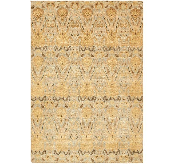 6' x 9' Ikat Oriental Rug