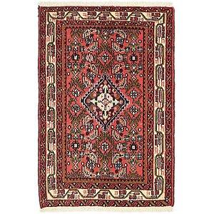 2' 5 x 3' 8 Hossainabad Persian Rug