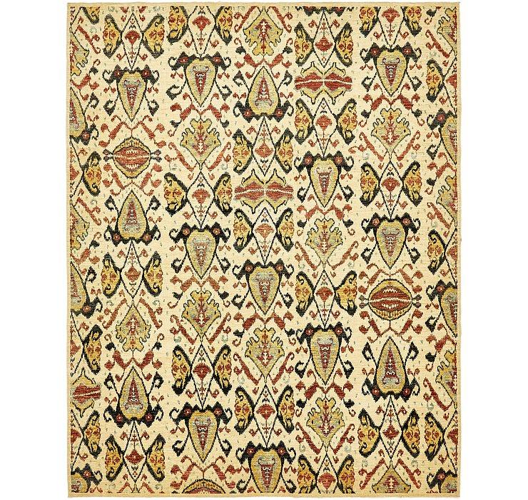9' 3 x 11' 7 Ikat Oriental Rug