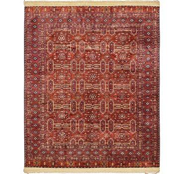 251x318 Afghan Ersari Rug
