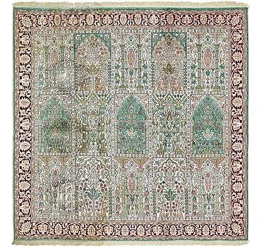 183x183 Kashmir Rug
