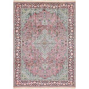 7' 9 x 11' Kashmir Oriental Rug