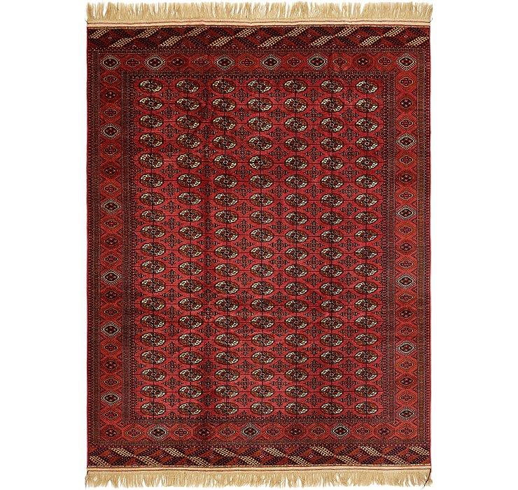 HandKnotted 8' 3 x 11' Torkaman Oriental Rug