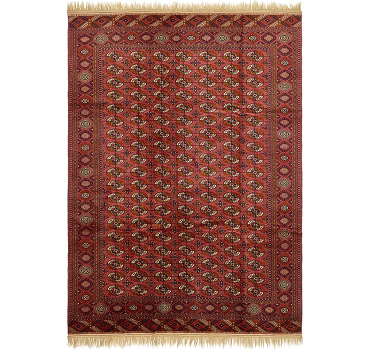 7' 10 x 11' 4 Torkaman Oriental Rug