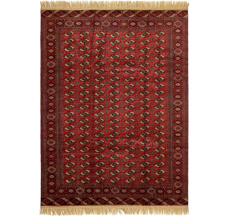 8' x 11' 2 Torkaman Oriental Rug