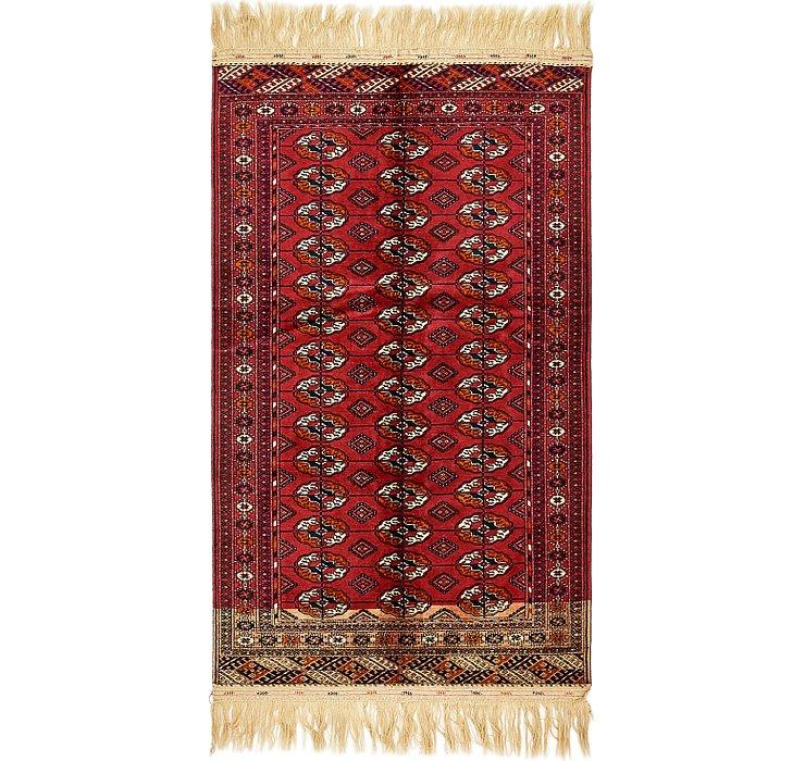 3' 10 x 6' 9 Torkaman Oriental Rug