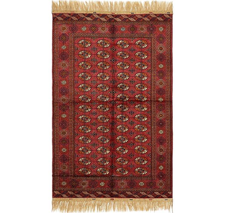 5' 4 x 8' 4 Torkaman Oriental Rug