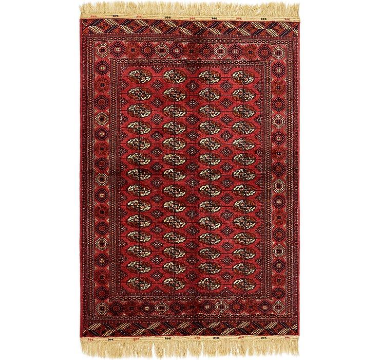 6' 4 x 9' 5 Torkaman Oriental Rug