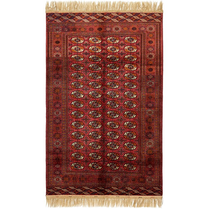 5' 4 x 8' 6 Torkaman Oriental Rug