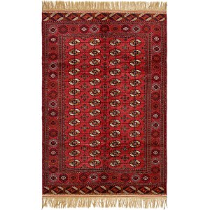 6' x 9' 2 Torkaman Oriental Rug