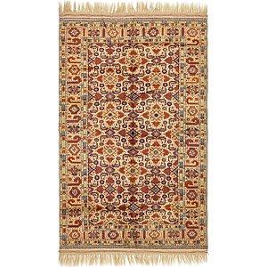 5' 4 x 8' 7 Torkaman Oriental Rug