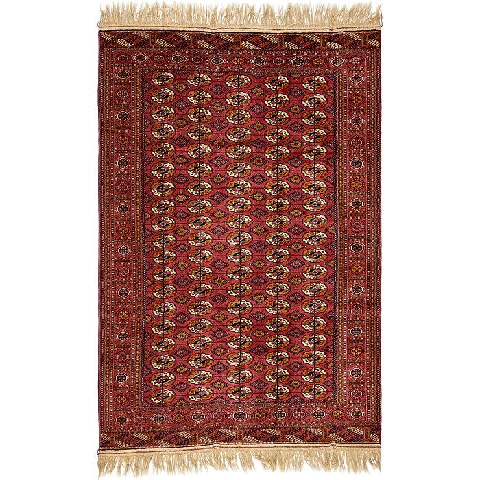 6' 7 x 10' 3 Torkaman Oriental Rug