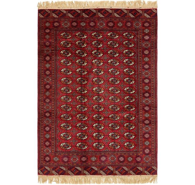 6' x 9' 4 Torkaman Oriental Rug