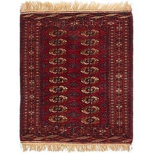 2' 10 x 3' 9 Torkaman Oriental Rug