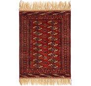 Link to 2' 7 x 4' Torkaman Oriental Rug