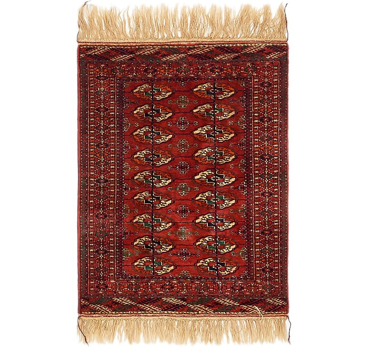 2' 7 x 4' Torkaman Oriental Rug