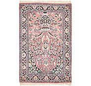 Link to 2' 8 x 4' 3 Kashmir Oriental Rug
