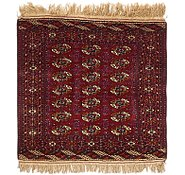 Link to 3' 3 x 3' 6 Torkaman Oriental Square Rug