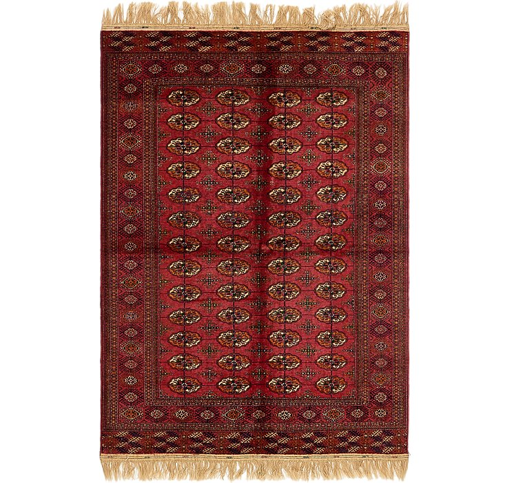 5' 4 x 8' 3 Torkaman Oriental Rug