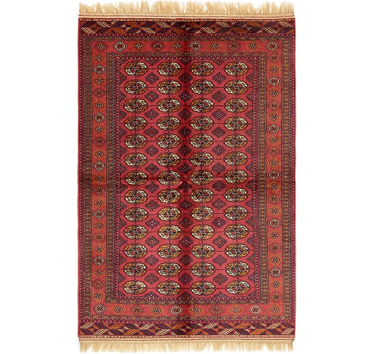 5' 3 x 8' 6 Torkaman Oriental Rug