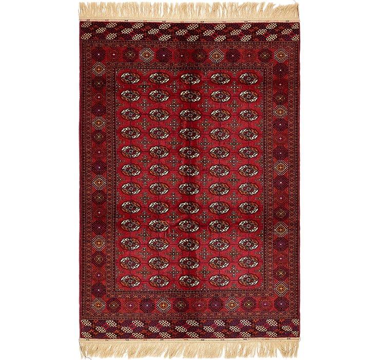6' x 9' 3 Torkaman Oriental Rug