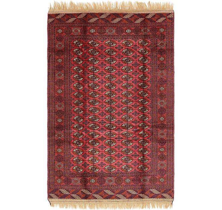 6' x 9' 5 Torkaman Oriental Rug