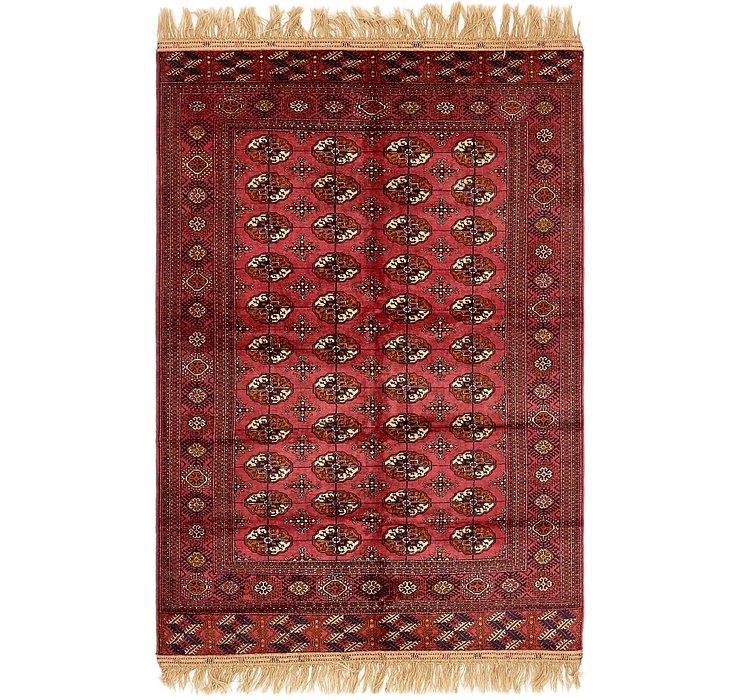 5' 3 x 8' 8 Torkaman Oriental Rug