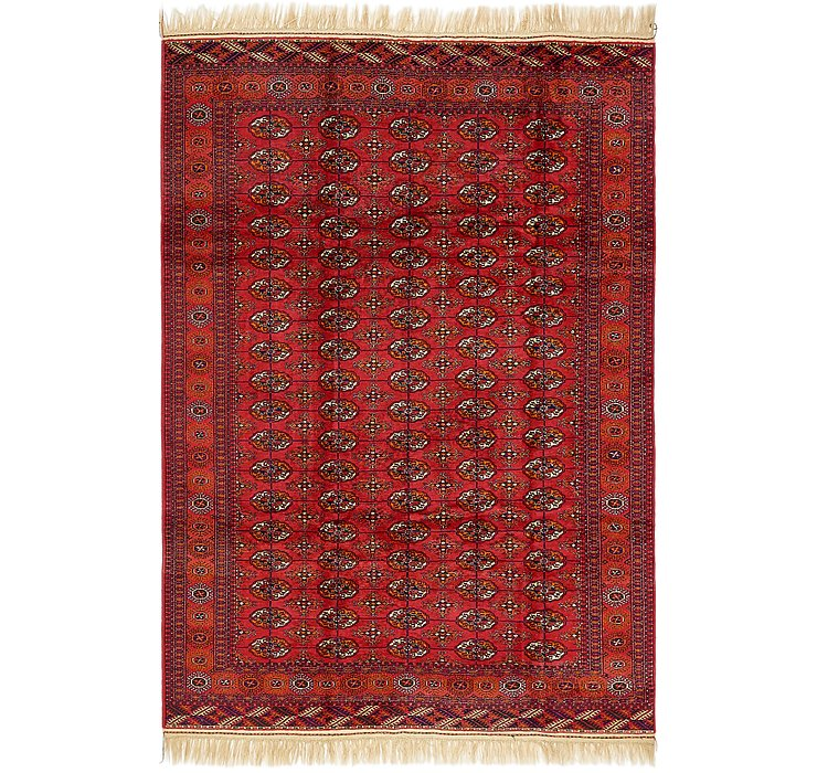 6' 8 x 9' 7 Torkaman Oriental Rug