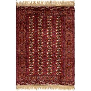 6' 7 x 9' 5 Torkaman Oriental Rug
